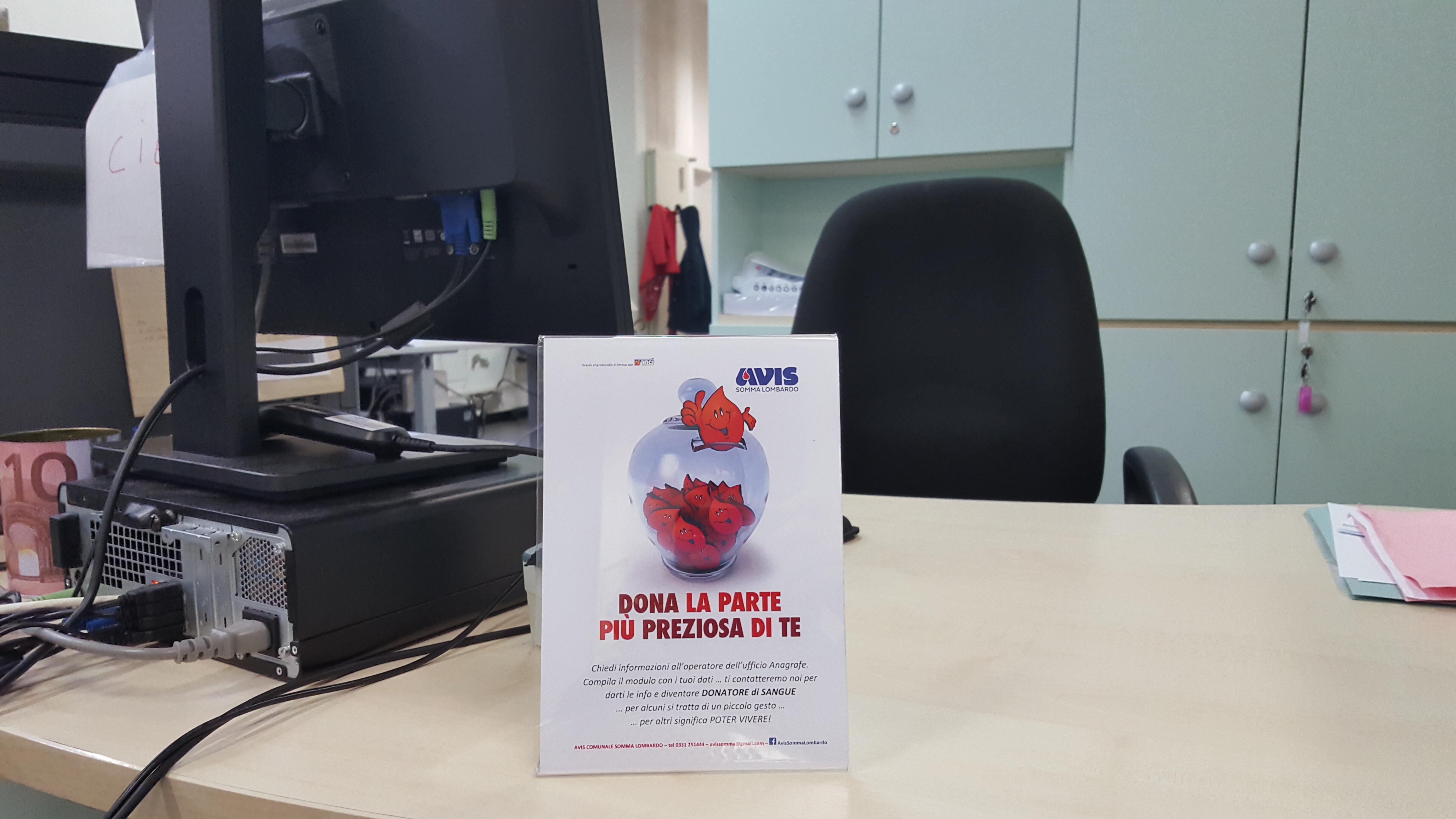 Il Comune insieme ad Avis per trovare nuovi donatori di sangue