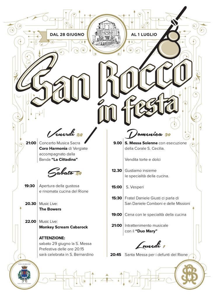 San Rocco in festa
