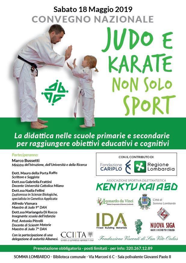 Judo e karate non solo sport