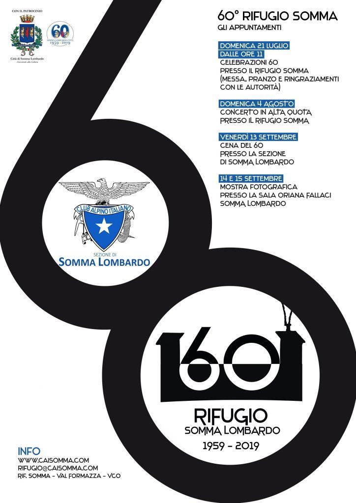 Celebrazioni Sessantesimo del Rifugio Somma