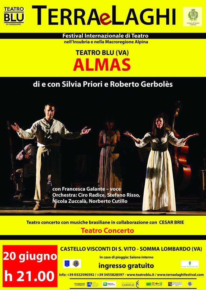 ALMAS teatro concerto