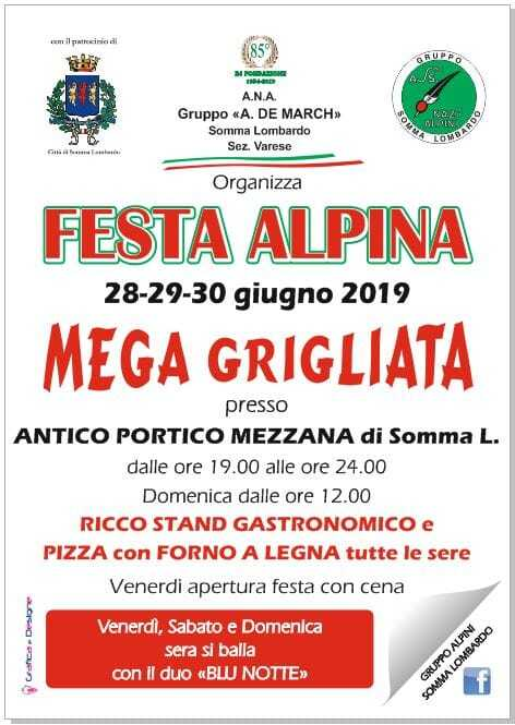 Festa alpina 2019