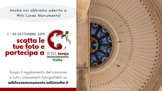 Concorso Wiki Loves Monuments 2019
