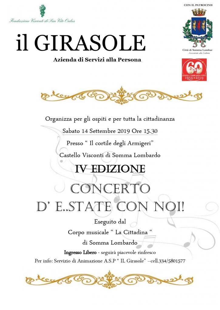Concerto d'E..state con noi!