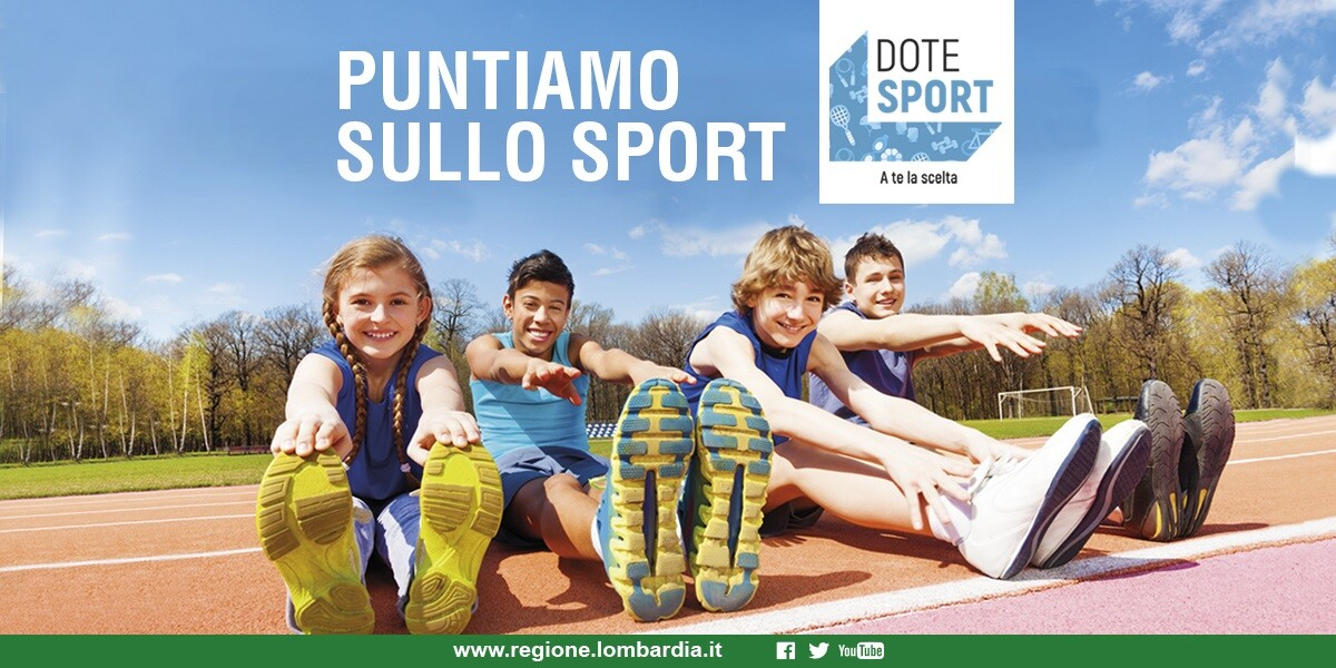Bando Dote Sport 2019, le domande online dal 15 ottobre