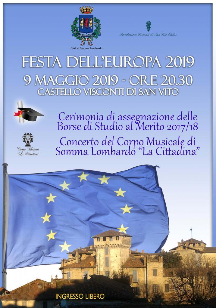 Festa d'Europa: consegna premi al merito
