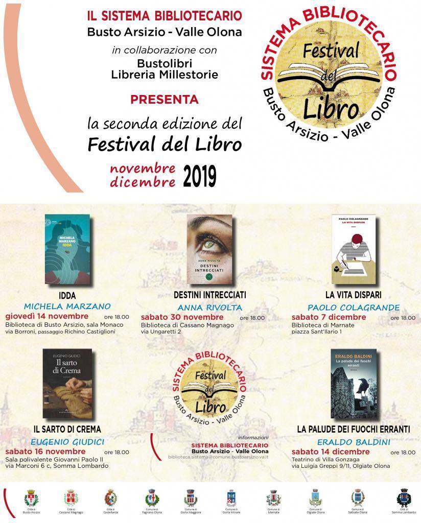 Seconda edizione del Festival del Libro