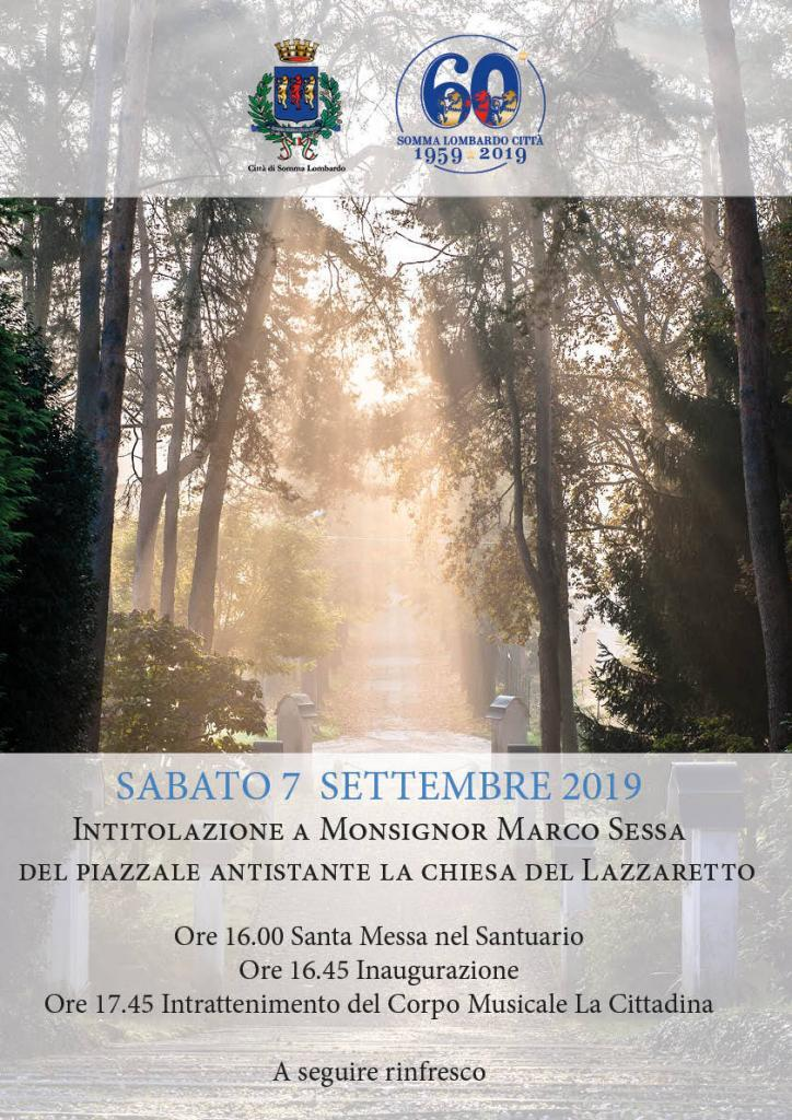 Intitolazione Piazzale Monsignor Sessa