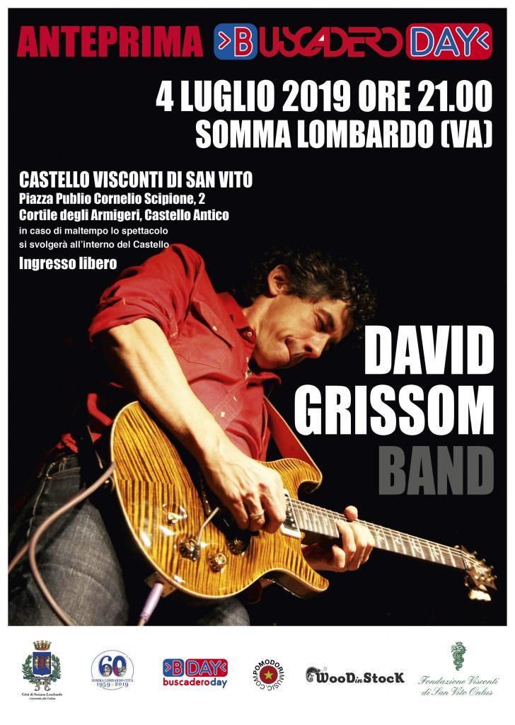 Concerto David Grissom Band - Anteprima Buscadero Day 2019