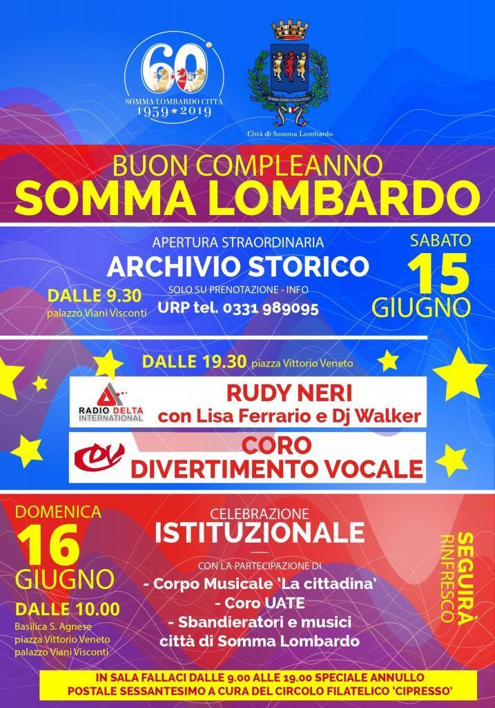 Buon compleanno Somma Lombardo
