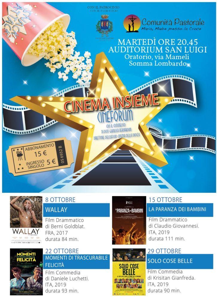 Cinema Insieme autunno 2019