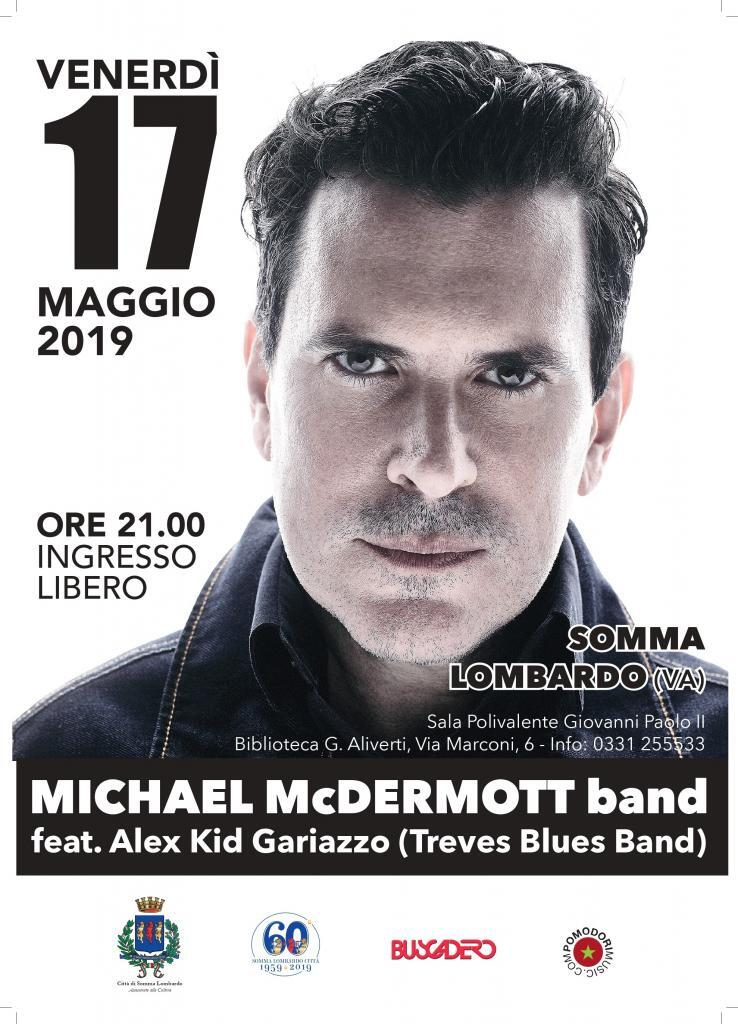 Concerto di Michael Mcdermott (rocker Chicago)