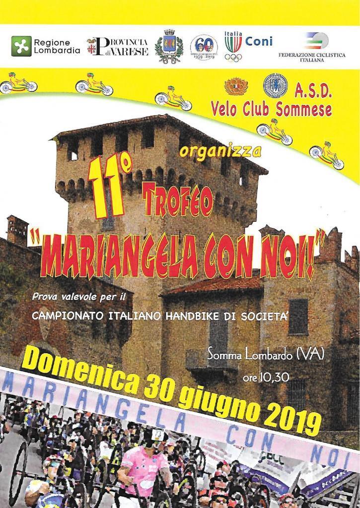 "Handbike, 11esimo Trofeo ""Mariangela con noi"""