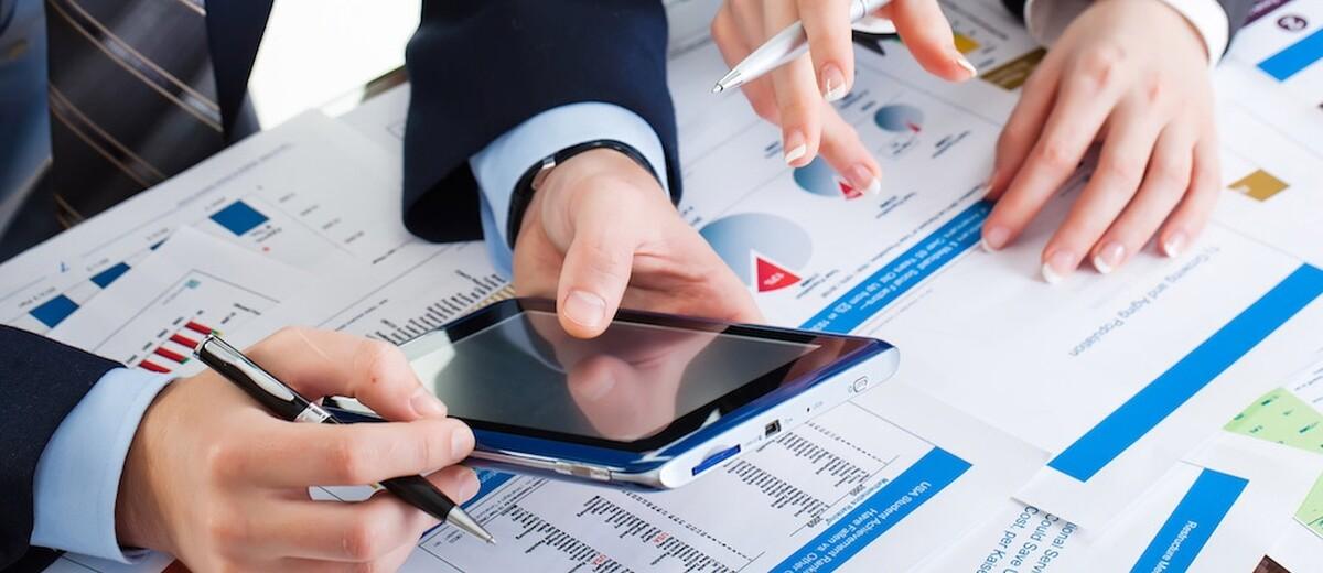 Immagine raffigurante l'analisi di dati contabili