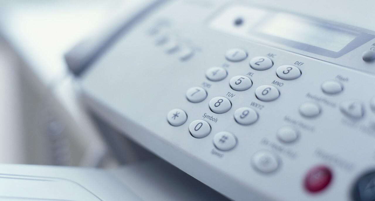 Immagine raffigurante un telefono con segreteria