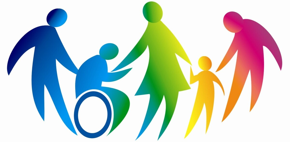 Immagine grafica rappresentante persone in difficoltà