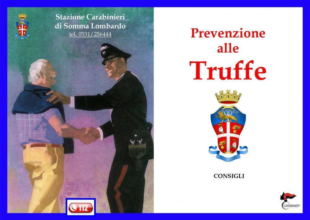 Come difendersi dalle truffe: a Somma appuntamento con i Carabinieri